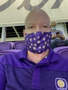 David Taylor attended Orlando City SC vs. Atlanta United FC - MLS on Sep 5th 2020 via VetTix