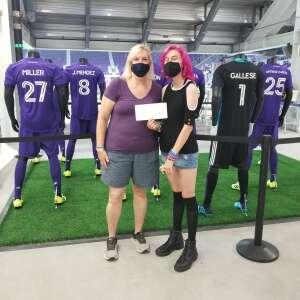 Alison  attended Orlando City SC vs. Atlanta United FC - MLS on Sep 5th 2020 via VetTix