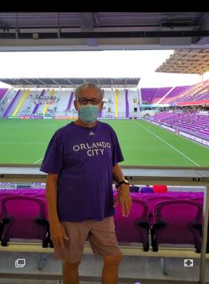 Charlie attended Orlando City SC vs. Atlanta United FC - MLS on Sep 5th 2020 via VetTix