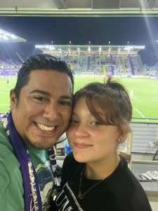 Eugene Gonzales attended Orlando City SC vs. Atlanta United FC - MLS on Sep 5th 2020 via VetTix