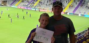 Eric attended Orlando City SC vs. Atlanta United FC - MLS on Sep 5th 2020 via VetTix