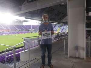 Frank Perez attended Orlando City SC vs. Atlanta United FC - MLS on Sep 5th 2020 via VetTix