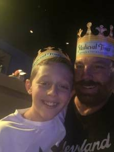 Mike Graham attended Medieval Times on Sep 12th 2020 via VetTix