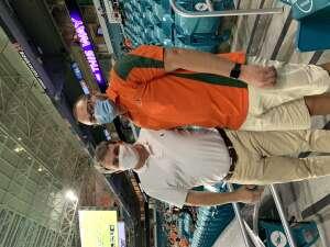 Paul attended University of Miami Hurricanes vs. University of Alabama at Birmingham Blazers - NCAA Football on Sep 10th 2020 via VetTix