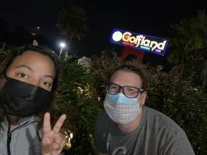 Sharalis attended Milpitas Golfland - One Game of Mini Golf on Sep 4th 2020 via VetTix