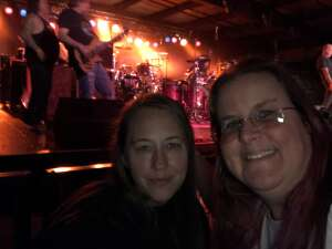 Tracy attended Buckcherry on Oct 18th 2020 via VetTix