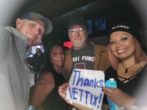 Darlene attended Buckcherry on Oct 18th 2020 via VetTix