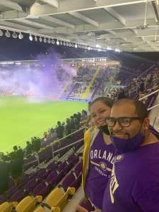 Ivan Perez attended Orlando City SC vs. Inter Miami FC - Major League Soccer on Sep 12th 2020 via VetTix
