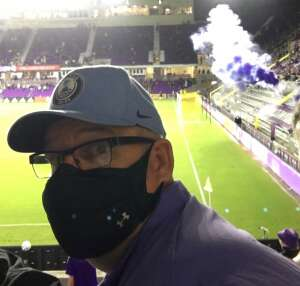 Greg attended Orlando City SC vs. Inter Miami FC - Major League Soccer on Sep 12th 2020 via VetTix