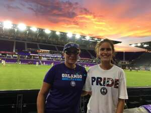 Lala attended Orlando City SC vs. Inter Miami FC - Major League Soccer on Sep 12th 2020 via VetTix