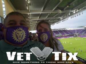 Frederick Deraney attended Orlando City SC vs. Inter Miami FC - Major League Soccer on Sep 12th 2020 via VetTix