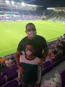 Ivan attended Orlando City SC vs. Inter Miami FC - Major League Soccer on Sep 12th 2020 via VetTix