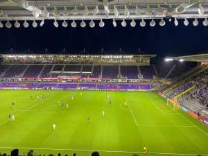 Dennis attended Orlando City SC vs. Inter Miami FC - Major League Soccer on Sep 12th 2020 via VetTix