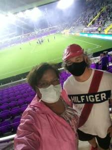 Renee Minnefield-Black attended Orlando City SC vs. Inter Miami FC - Major League Soccer on Sep 12th 2020 via VetTix