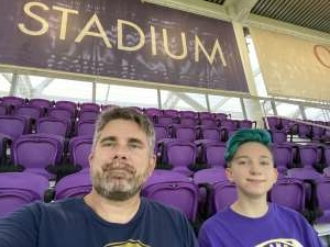 Jeff attended Orlando City SC vs. Inter Miami FC - Major League Soccer on Sep 12th 2020 via VetTix