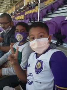 Ivan attended Orlando City SC vs. Chicago - Major League Soccer on Sep 19th 2020 via VetTix