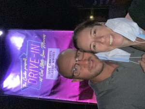 Jen and Corey attended Big Bad Voodoo Daddy - Drive in Concert on Sep 20th 2020 via VetTix
