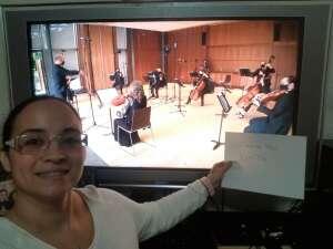 Heather Vicioso attended Princeton Symphony Orchestra Virtual Show: Simon / Shostakovich / Ferrandez on Oct 18th 2020 via VetTix