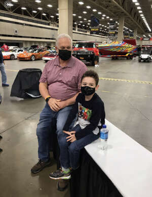 Randy attended Mecum Auctions 2020 - Dallas - Good for Any One Day on Oct 15th 2020 via VetTix