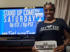 Click To Read More Feedback from The Laugh Tour: VIRTUAL Stand Up Comedy via ZOOM