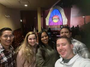 Manny attended Laugh Factory Presents Chicago's Best Stand Up on Oct 16th 2020 via VetTix