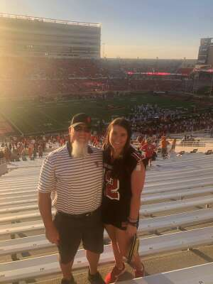 Charlie attended Texas Tech Red Raiders vs. University of Texas - NCAA Football on Sep 26th 2020 via VetTix