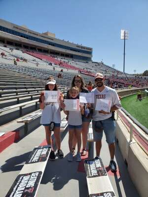 Click To Read More Feedback from Texas Tech Red Raiders vs. University of Texas - NCAA Football