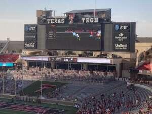 Clay attended Texas Tech Red Raiders vs. University of Texas - NCAA Football on Sep 26th 2020 via VetTix