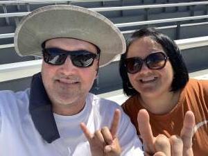 Phillip attended Texas Tech Red Raiders vs. University of Texas - NCAA Football on Sep 26th 2020 via VetTix