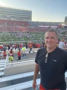 Greg attended Texas Tech Red Raiders vs. University of Texas - NCAA Football on Sep 26th 2020 via VetTix