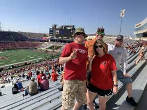 Gabriel attended Texas Tech Red Raiders vs. University of Texas - NCAA Football on Sep 26th 2020 via VetTix