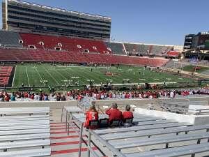 David  attended Texas Tech Red Raiders vs. University of Texas - NCAA Football on Sep 26th 2020 via VetTix