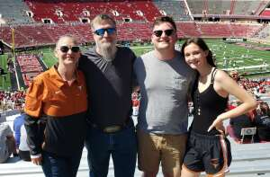 Luther attended Texas Tech Red Raiders vs. University of Texas - NCAA Football on Sep 26th 2020 via VetTix