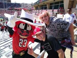 Stephanie attended Texas Tech Red Raiders vs. University of Texas - NCAA Football on Sep 26th 2020 via VetTix