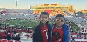 MARINE ONE attended Texas Tech Red Raiders vs. University of Texas - NCAA Football on Sep 26th 2020 via VetTix