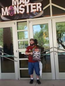 Matt attended Mad Monster Party on Oct 10th 2020 via VetTix