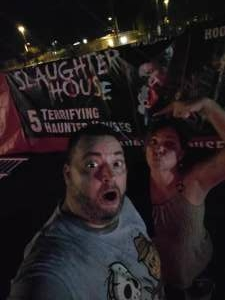 Michael attended Slaughter House - Opening Weekend on Oct 2nd 2020 via VetTix