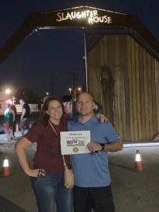 LTrevino attended Slaughter House - Opening Weekend on Oct 2nd 2020 via VetTix