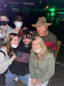Justin Pollay attended Kersey Valley Spookywoods on Oct 2nd 2020 via VetTix