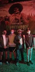 Moises attended Kersey Valley Spookywoods on Oct 3rd 2020 via VetTix