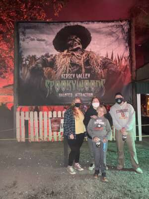Kim  attended Kersey Valley Spookywoods on Oct 4th 2020 via VetTix