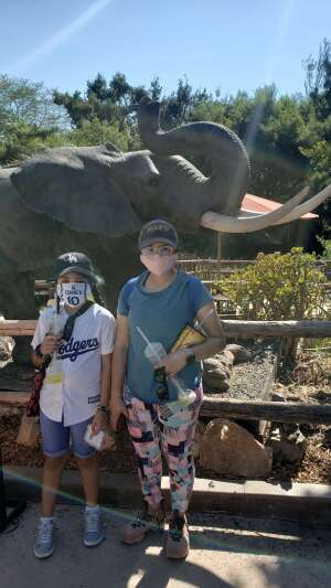 Steve  attended San Diego Zoo Guest Pass on Oct 16th 2020 via VetTix