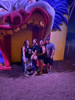 SGT Munoz  attended Fear Farm on Oct 1st 2020 via VetTix