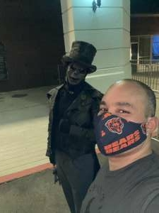 Justin  attended 13th Floor Haunted House on Oct 2nd 2020 via VetTix