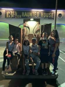 Jesse  attended 13th Floor Haunted House on Oct 2nd 2020 via VetTix