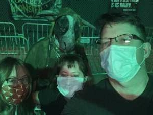 Sheridan attended 13th Floor Haunted House on Oct 2nd 2020 via VetTix