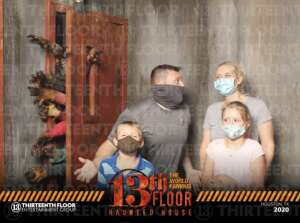 Mark attended 13th Floor Haunted House on Oct 2nd 2020 via VetTix