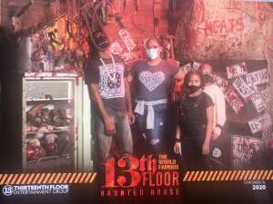Ra-Shad Owens attended 13th Floor Haunted House on Oct 7th 2020 via VetTix