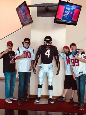 Justin G attended Houston Texans vs. Minnesota Vikings - NFL on Oct 4th 2020 via VetTix