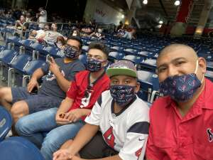 Big Abe attended Houston Texans vs. Minnesota Vikings - NFL on Oct 4th 2020 via VetTix